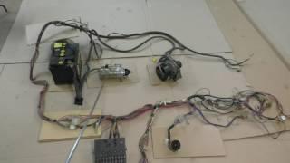 видео Электрическая схема ВАЗ 2110: схема электрооборудования