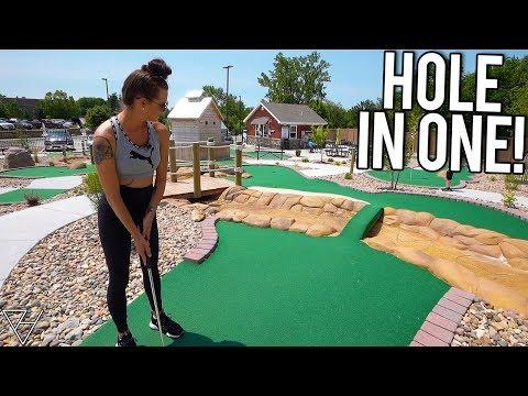 Epic Mini Golf Hole In One And Awesome Mini Golf Holes At Joe Town Mini Golf!