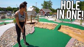 Epic Mini Golf Hole In One And Awesome Mini Golf Holes At Joe Town Mini