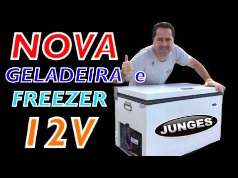 GELADEIRA 12V AUTOMOTIVA, UM NOVO FRIGOBAR OU FREEZER PARA CARRO DA JUNGES | REIVEW DO REFRIGERADOR|