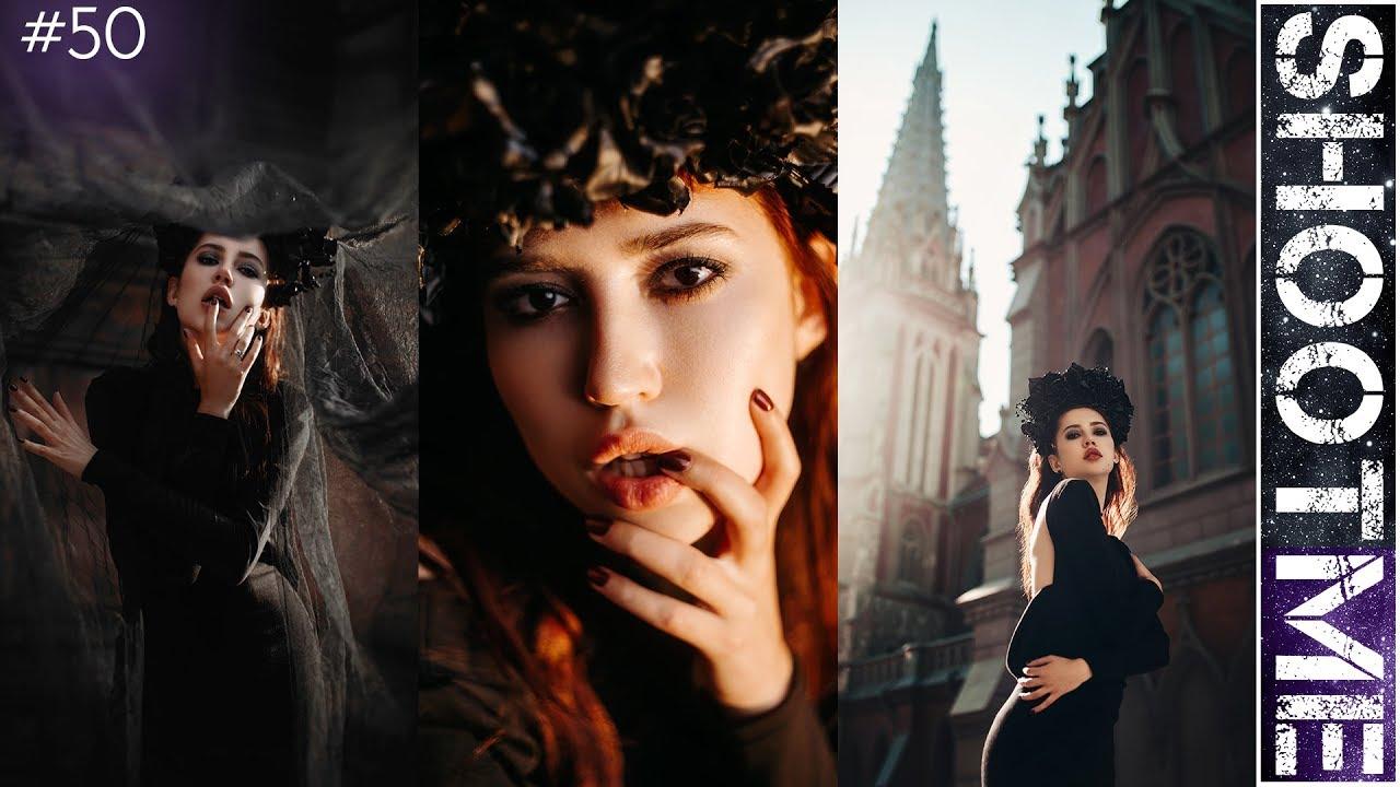 Крутые идеи для фото в INSTAGRAM || Съемка в готическом образе/стиле