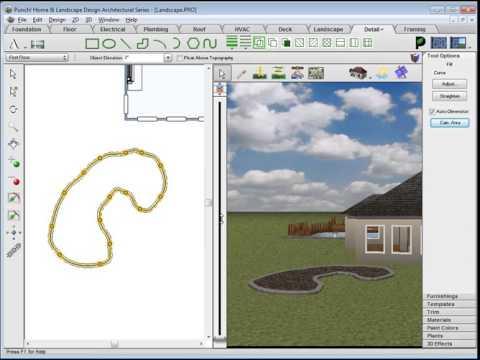 Architect 3D - Landscape tutorial