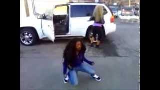 14 years old girl killing the dougie
