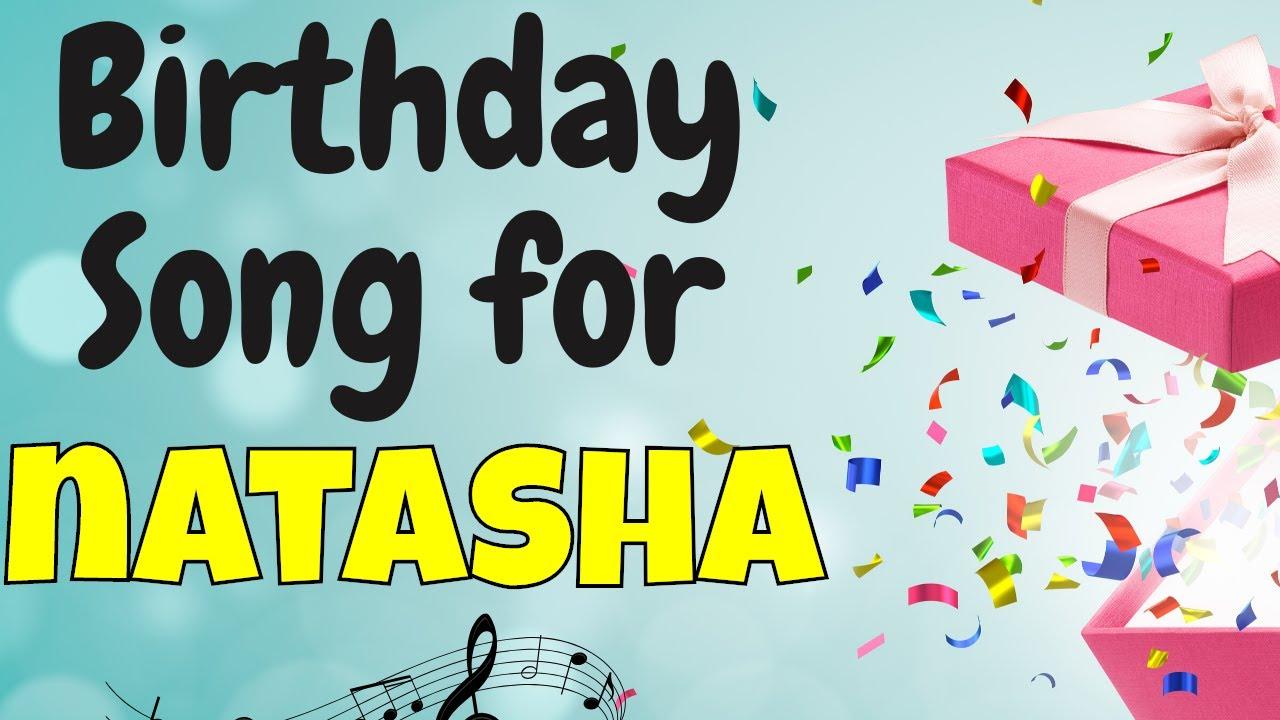 Happy Birthday Natasha Song   Birthday Song for Natasha   Happy Birthday Natasha Song Download