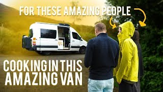 EAMON AND BEC #CHALLENGE ME TO COOK IN THIER CONVERTED VAN