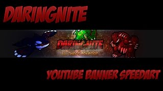 DaringNite YouTube Banner Speedart