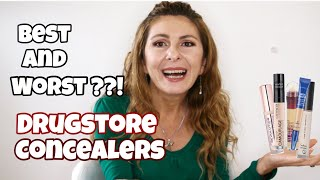 #drugstore #concealers Drugstore Concealers Battle | Best and Worst |Wear Test & Review