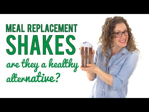 Should I replace meals with shakes?