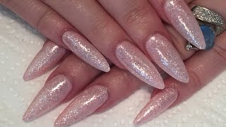 gel sculpted nails how-to using NSI's secrets removable gel