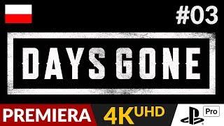 Days Gone PL  #3 (odc.3)  Handel, trofea i miejsca odpoczynku | Gameplay po polsku 4K