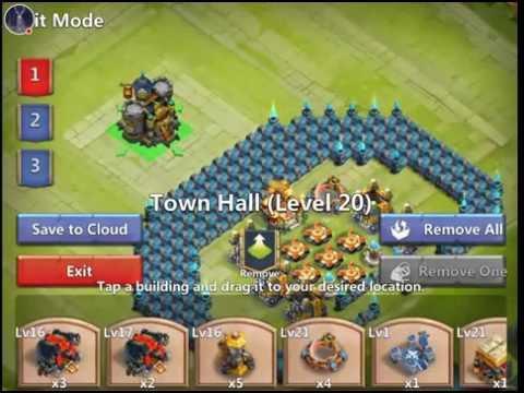 Castle Clash: HBM T & Base Building On Zavian Lewis' Account!