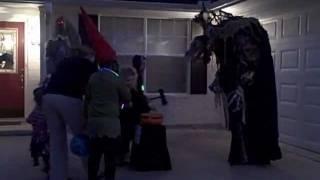 Skeksis costume Halloween 2011