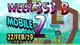 Angry Birds Friends Tournament Level 2 Week 353-B MOBILE Highscore POWER-UP walkthrough