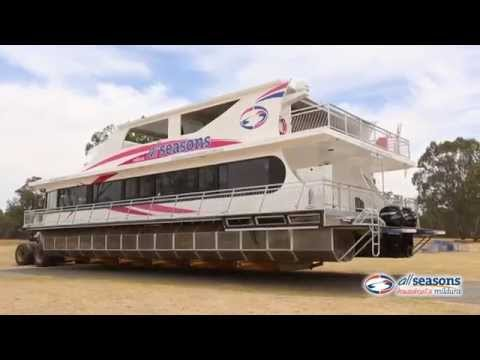 Platinum Indulgence Houseboat build - All Seasons Houseboats Mildura