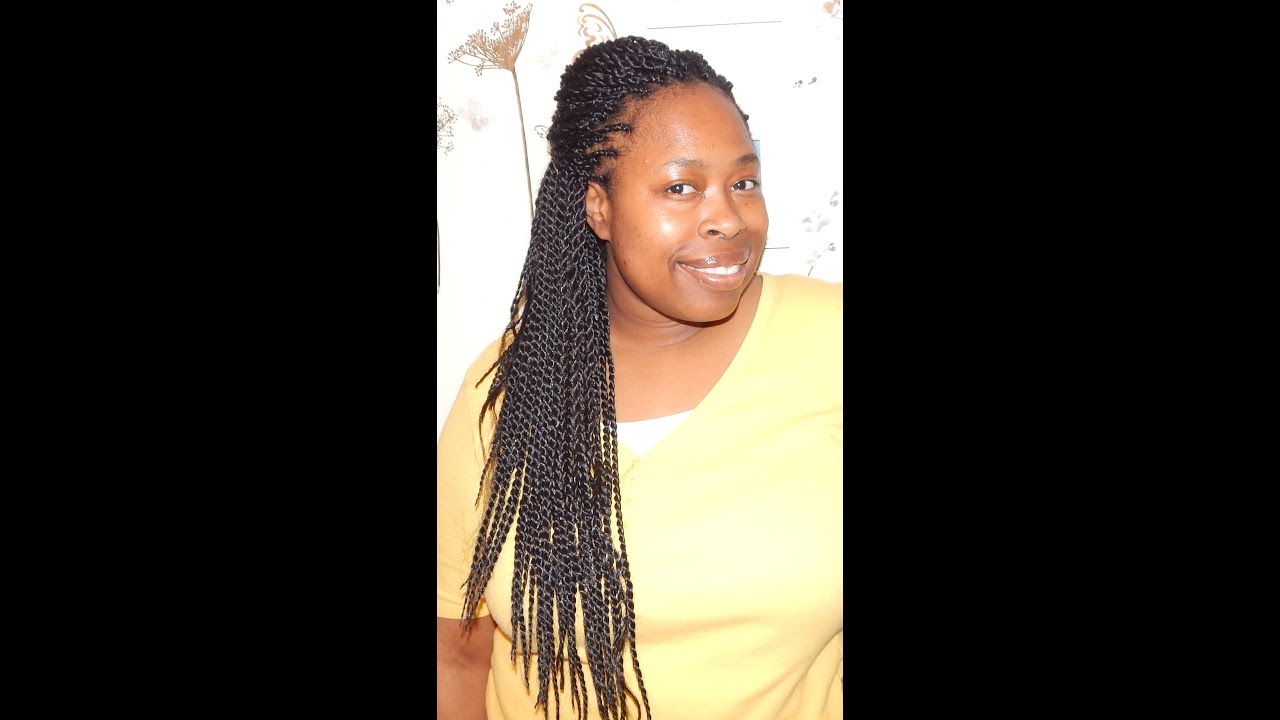 Natural Hair Protective Styling Crochet Senegalese Twist