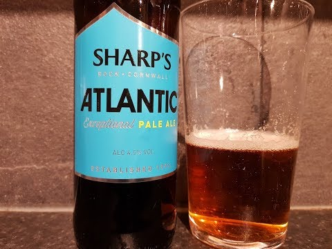 Sharp's Atlantic Exceptional Pale Ale By Sharp's Brewery | British Beer Review
