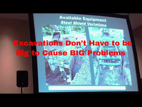 Excavations Don't Have to be Big to Cause BIG Problems