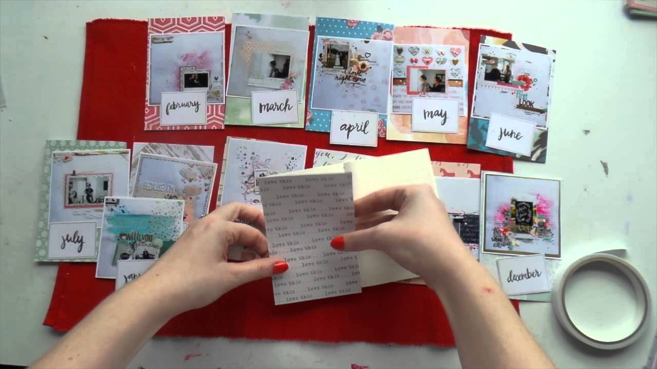 12 Days of Christmas Presents ~ DAY 1 ~ Mini DIY Planner - YouTube