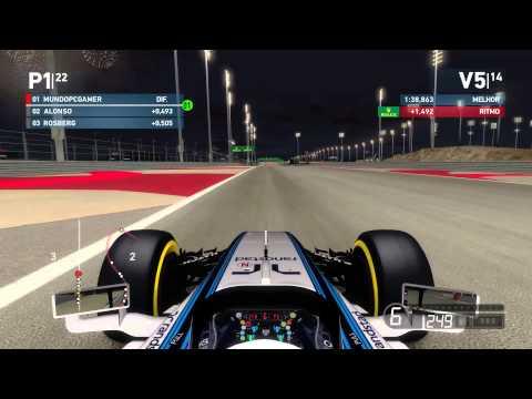 Formula 1 2014 : Corrida Bahrain 60FPS #06 - 동영상