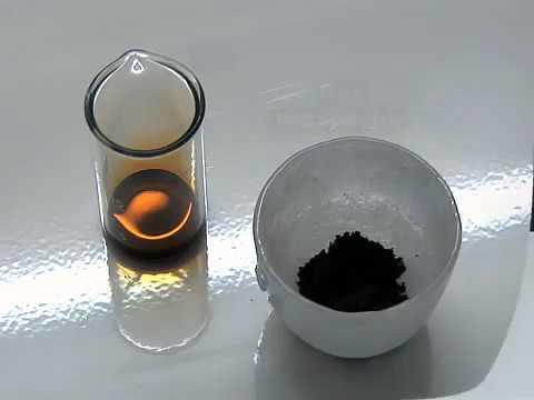 Red phosphorus and bromine   YouTube