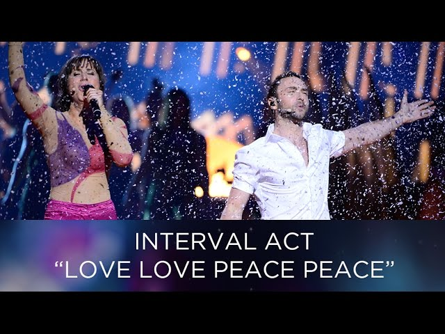 Love Love, Peace peace - How to make a perfect Eurovision Song