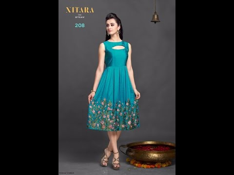 Buy Online Dress - Modern New Arrivals Fashionable Western kurtisdress