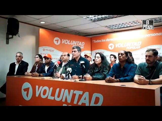 Voluntad Popular repudia el asesinato del dirigente Edmundo Rada