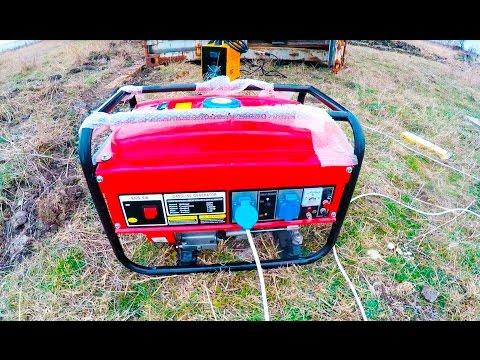 видео: 3 КВатт генератор и сварка.