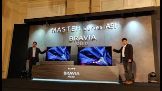 Sony Bravia A9F OLED TV First Look | Digit.in