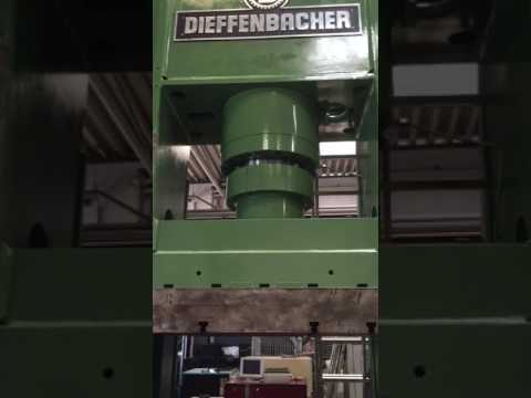 DIEFFENBACHER DIEFFENBACHER Hydraulic Double-Column Press