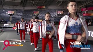 2019 Artistic Worlds, Stuttgart (GER) – Battle begins for men – We are Gymnastics !
