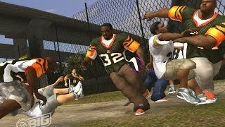 NFL Street 3 Gameplay (Playstation 2)