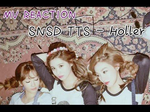 MV REACTION: SNSD TTS - Holler