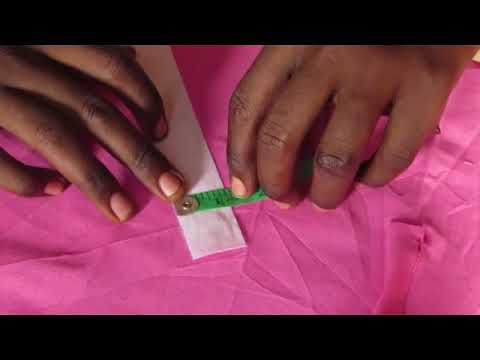 How to sew African native men's wear (buba and sokoto) part 2 thumbnail