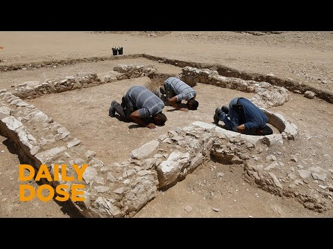 Finding An Ancient Mosque In The Holy Land