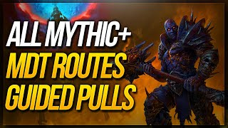 SHADOWLANDS Dungeon Mythic+ MDT Routes ★ Fortified & Tyrannical