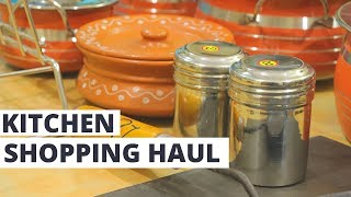 Shopping Haul || Kannan Departmental Stores and Ravi Metal Mart || Kitchen Shopping Haul ||