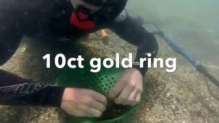 Lost Jewellery Recovery #3 metal detecting 2x gold rings in ro…
