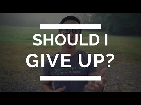 What to Do When You Feel Like Giving Up | Christian Depression
