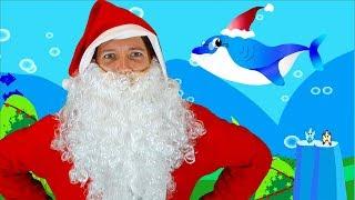 Baby Shark Christmas Song for Kids   Sing & Dance with Santa Shark