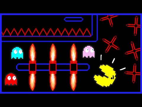 ‼️PAC-MAN Maze Mayhem‼️ [Cartoon Animation]