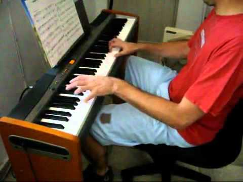 simpsons theme song piano pdf