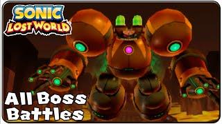 Скачать Sonic Lost World 3DS All Bosses S Rank