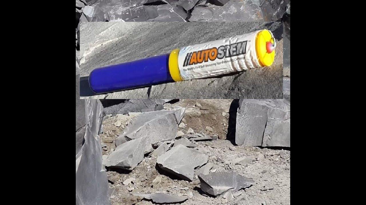 Rock Blasting Safety : Auto stem brand new rock blasting non detonating safety