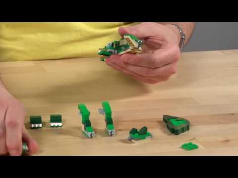 LEGO® Creator - PŘEDĚLEJ KROKODÝLA NA DINOSAURA