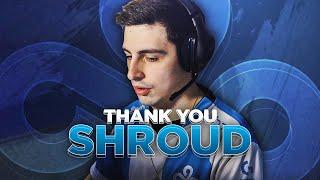 "Thank you: Michael ""Shroud"" Grzesiek | Cloud9 CS:GO Announcement"