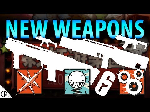 All Weapons - Ela, Lesion and Ying - Blood Orchid - Hong Kong - Rainbow Six Siege - R6