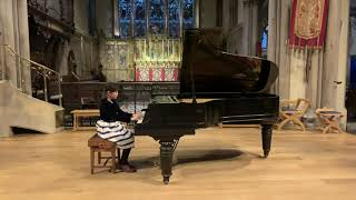 Season 1 2020, Claire Song, champion of Grade Exam Category, London Young Musicians Award