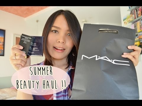 เปิดถุงช็อปเครื่องสำอางรับ summer ft.MAC CHANEL Dior