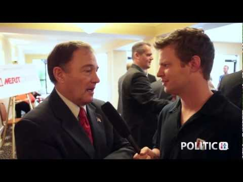 Gary Herbert at RNC: PoliticIt Exclusive Interview